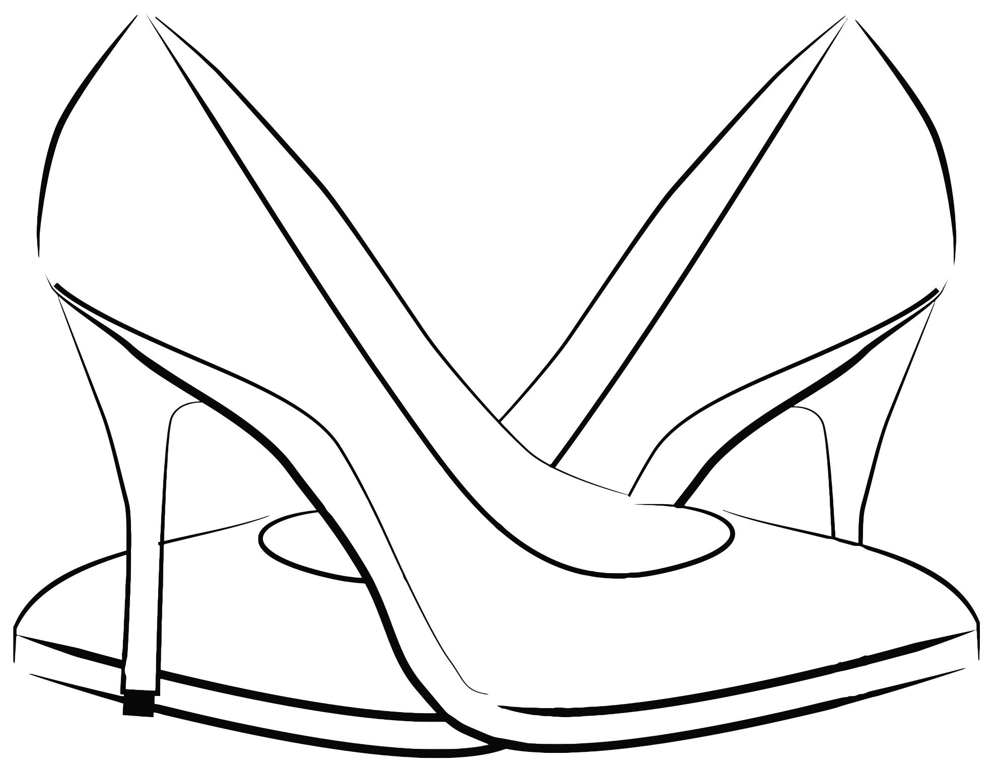 Womens shoes images clipart image library library 101+ Women Shoes Clipart   ClipartLook image library library