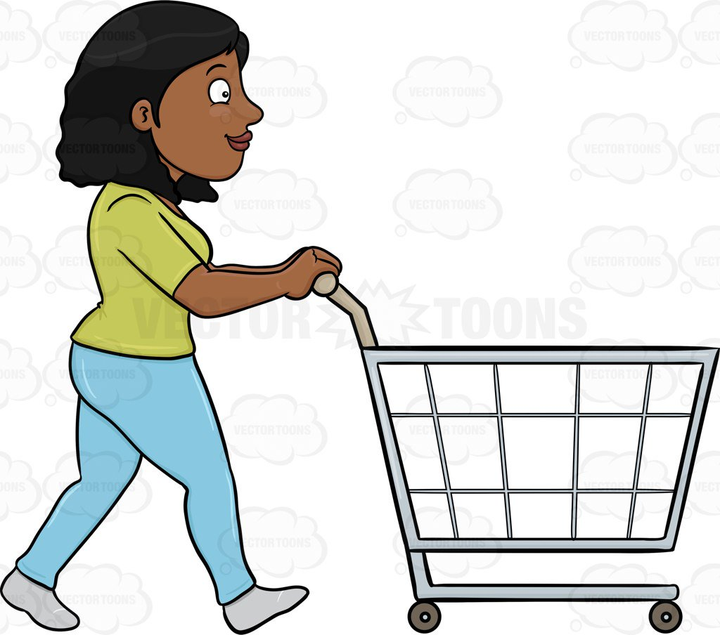 Woman shopping in supermarket clipart clip art royalty free library Collection of 14 free Shopping clipart shopping supermarket ... clip art royalty free library