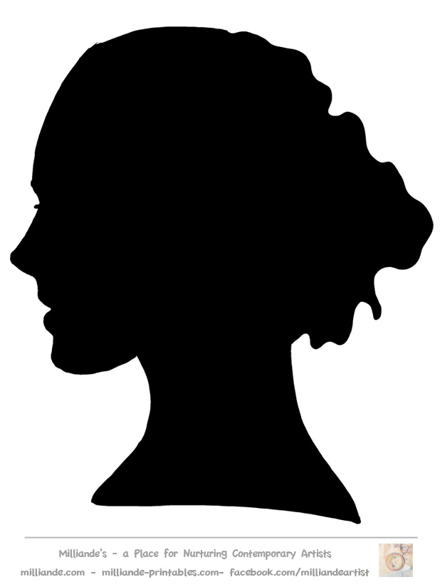 Woman side face clipart picture royalty free library Free Woman Profile Silhouette, Download Free Clip Art, Free ... picture royalty free library