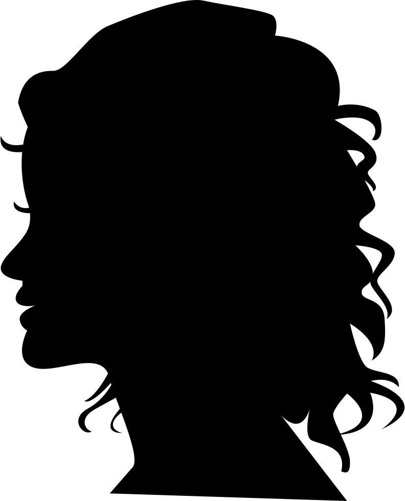 Woman side view face clipart picture free HD Svg Silhouette Head - Woman Face Side View Silhouette ... picture free