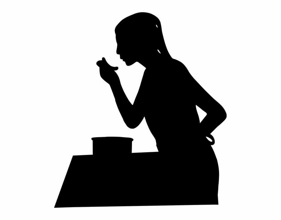 Woman silhouette cooking clipart jpg free Free Image On Pixabay - Woman Silhouette Cooking Free PNG ... jpg free