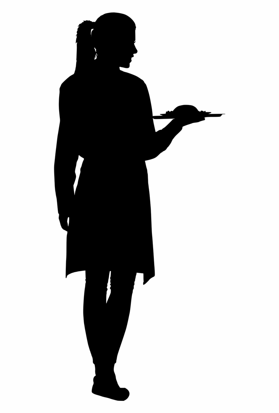 Woman silhouette cooking clipart picture free Silhouette Cooking Food - Silhouette Of Women Cooking Free ... picture free
