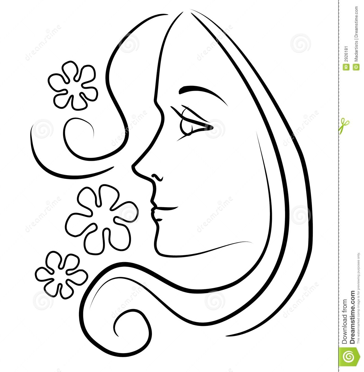 Woman sketch clipart jpg free download Woman Outline Sketch at PaintingValley.com | Explore ... jpg free download