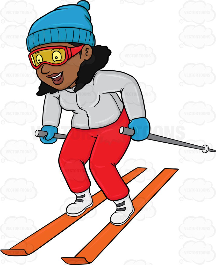 Woman skiing clipart clip art free library 89+ Skiing Clipart   ClipartLook clip art free library
