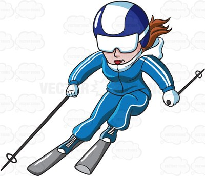 Woman skiing clipart svg royalty free library Skiing Images   Free download best Skiing Images on ... svg royalty free library