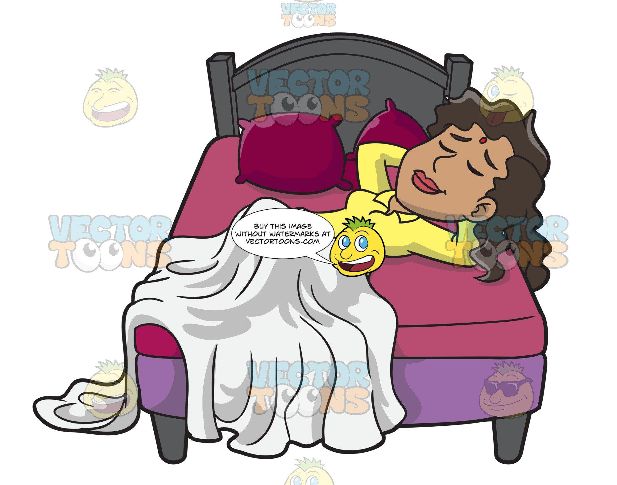 Woman sleepy clipart clip transparent download A Woman Sleeping Soundly clip transparent download