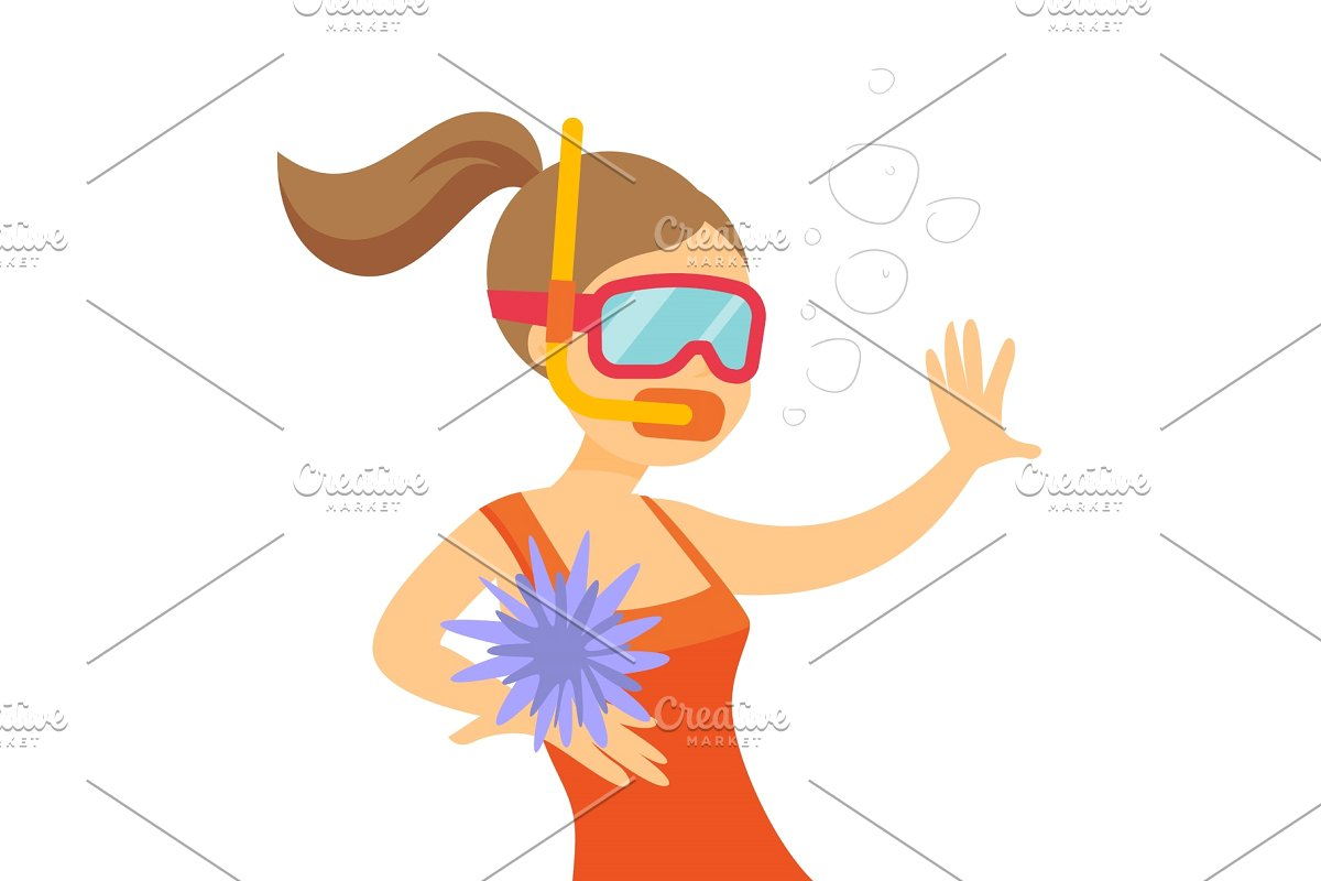 Woman swimming underwater clipart picture royalty free library Young caucasian white woman swimming underwater. picture royalty free library