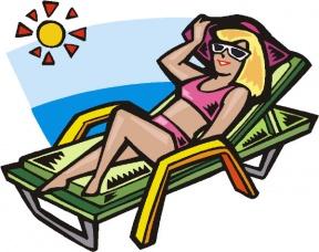 Woman tanning clipart svg download Suntan Clipart | Free download best Suntan Clipart on ... svg download