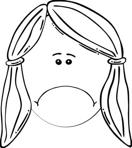 Woman unhappy face clipart black and white svg library library Sad Face Black And White | Free download best Sad Face Black ... svg library library