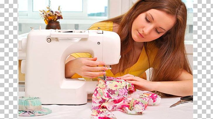 Woman using sewing machine clipart banner library download Sewing Machines Dressmaker Stock Photography PNG, Clipart ... banner library download