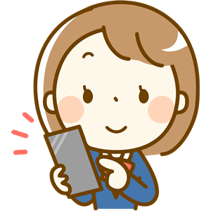 Woman using smartphone clipart freeuse library Female using Smartphone (#10b) clipart, cliparts of Female ... freeuse library
