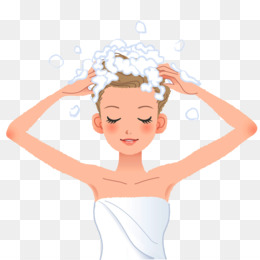 Woman washing hair free clipart png Washing Hair Girl Png & Free Washing Hair Girl.png ... png