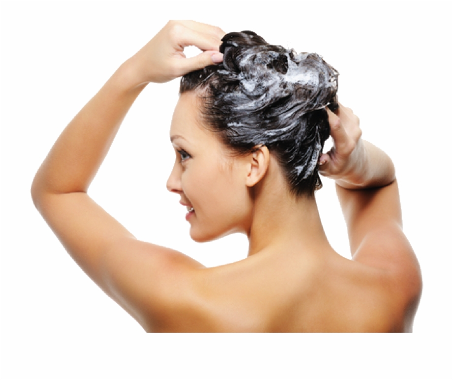 Woman washing hair free clipart svg black and white stock Hair Care Png Image Background - Woman Washing Hair Png Free ... svg black and white stock