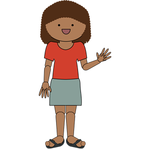 Woman waving clipart clipart library download Woman waving hello clipart, cliparts of Woman waving hello ... clipart library download