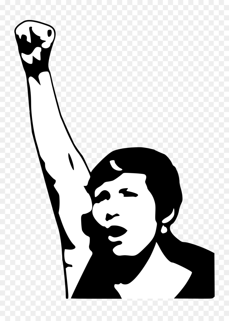 Woman with arms raised clipart picture freeuse library Black Power Fist clipart - Woman, Black, Head, transparent ... picture freeuse library