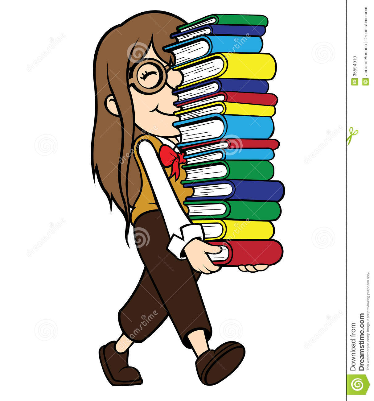 Woman with books clipart svg freeuse stock Woman carrying stack of books clipart - ClipartFest svg freeuse stock