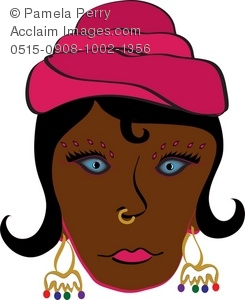 Woman with nose ring clipart svg transparent library nose ring clipart & stock photography | Acclaim Images svg transparent library