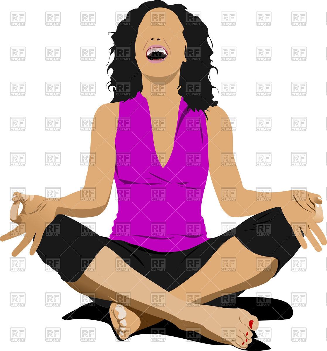 Woman yoga clipart free clip art royalty free Free Clipart Yoga Poses | Free download best Free Clipart ... clip art royalty free
