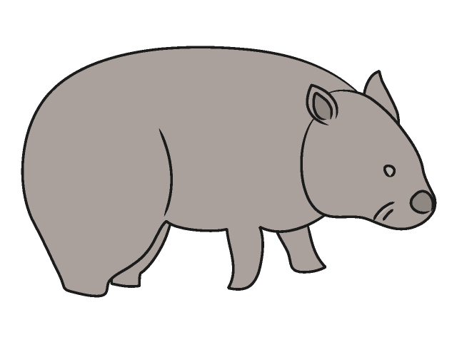 Wombat pictures clipart freeuse library Wombat Clip Art Free | Clipart Panda - Free Clipart Images freeuse library