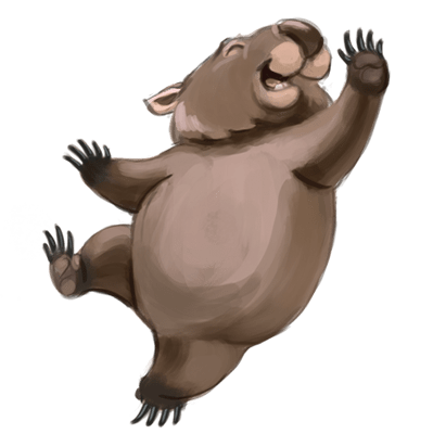 Wombat pictures clipart png free Wombat Clipart transparent PNG - StickPNG png free