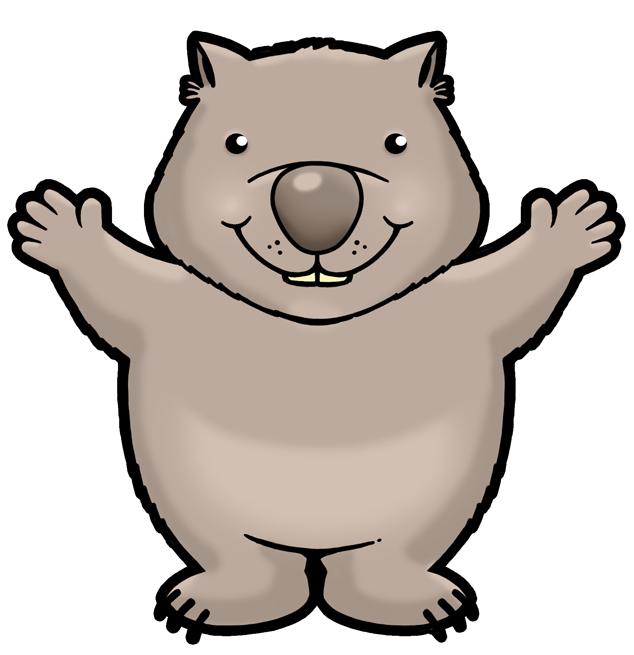Wombat pictures clipart graphic transparent Free Cartoon Wombat, Download Free Clip Art, Free Clip Art ... graphic transparent