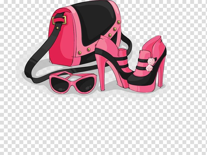 Women accessories clipart clip art freeuse download Fashion accessory Icon, Pink Women\\\'s Accessories ... clip art freeuse download