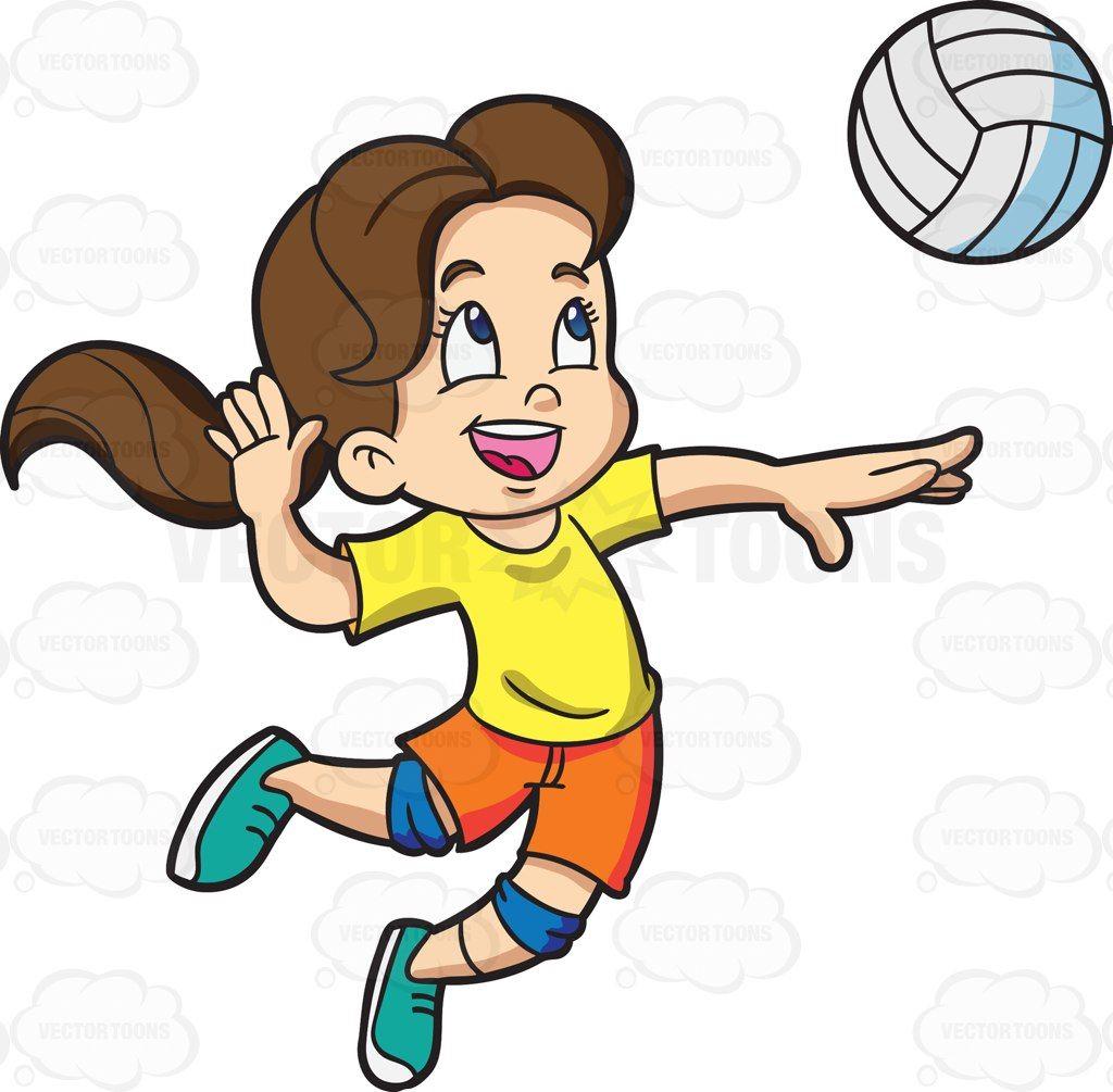 Women badminton player clipart