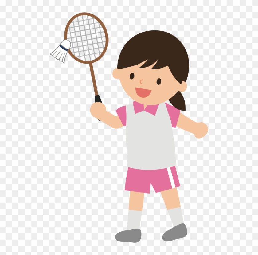 Women badminton player clipart picture royalty free library 516 X 750 4 - Women Playing Badminton Clipart, HD Png ... picture royalty free library