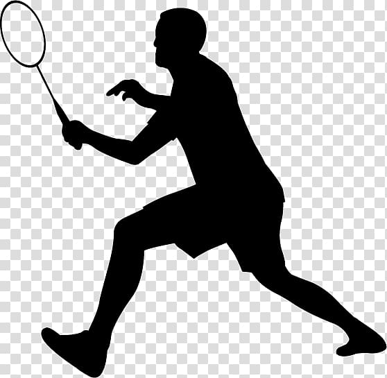 Women badminton player clipart image royalty free download Badminton Silhouette , badminton transparent background PNG ... image royalty free download