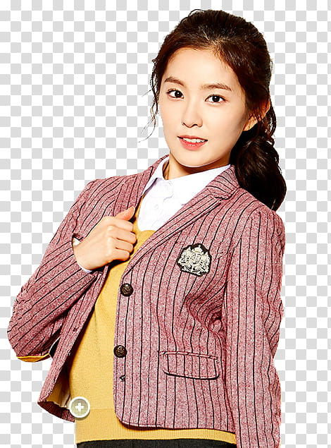 Women cardigan clipart png picture royalty free download Irene red velvet ivy club, woman wearing red cardigan ... picture royalty free download