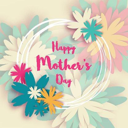 Women clipart pastel png freeuse Happy Mother\'s Floral Greeting International Women\'s premium ... png freeuse