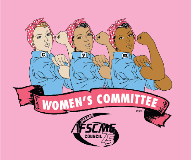 Women committee member clipart image black and white download OREGON AFSCME | image black and white download