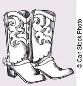 Women cowboy boot clipart picture royalty free stock Boots Stock Illustration Images. 75,120 Boots illustrations ... picture royalty free stock