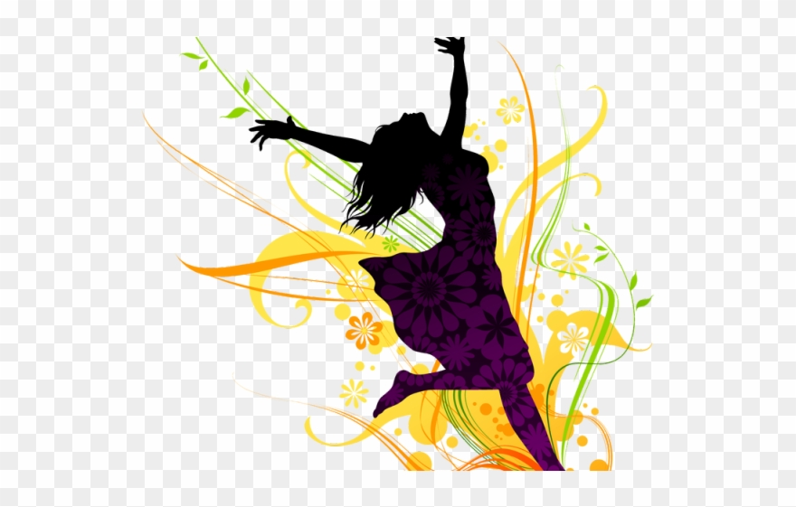 Women fitness clipart vector free stock Fitness Clipart Dance Fitness - Silhouettes Of Women ... vector free stock