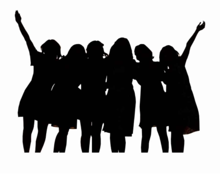 Women friend clipart clip Free Silhouette Of Friends, Download Free Clip Art, Free ... clip