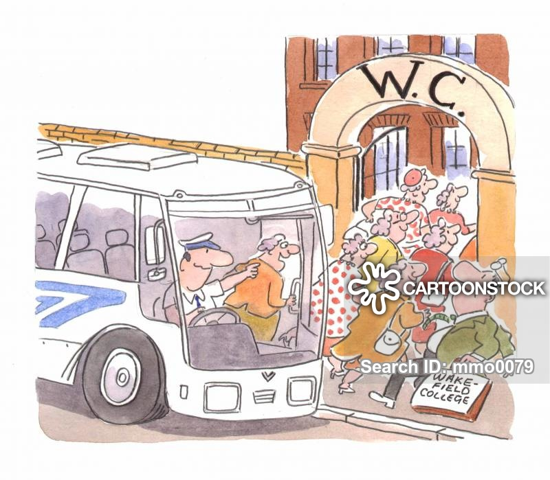 Women getting on bus clipart clip art black and white stock Coach Trips Cartoons and Comics - funny pictures from ... clip art black and white stock
