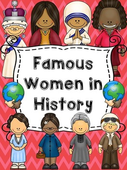 Women history clipart picture royalty free library Women\'s History Month in 2019 | Products | Social studies ... picture royalty free library