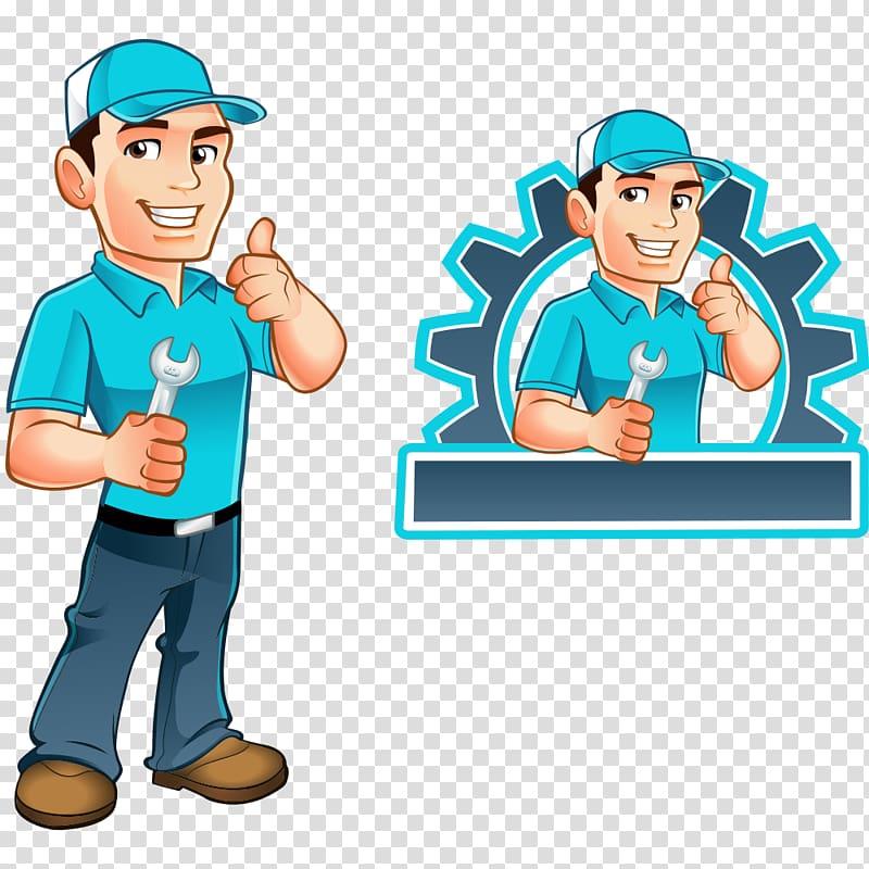 Women hvac technicians clipart picture freeuse Repair man illustration, Handyman Illustration, repairman ... picture freeuse