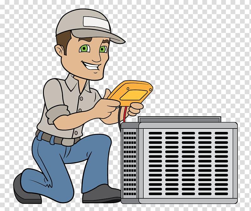 Women hvac technicians clipart picture transparent Technician HVAC Air conditioning Electricity , Hvac Unit ... picture transparent