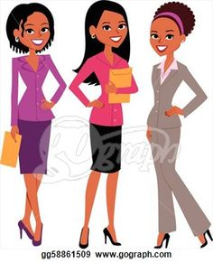 Women in suits clipart animation picture royalty free library 7 Best Professional Ethnic Women ClipArt images in 2015 ... picture royalty free library