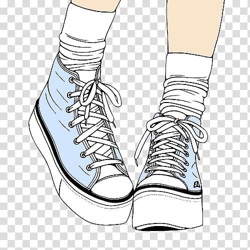 Women legs clipart sneakers png free library Converse Drawing Shoe Sneakers Vans, nike transparent ... png free library