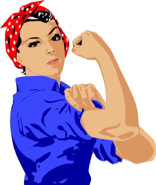 Strong girl clipart clip transparent Free Female Bodybuilder Cliparts, Download Free Clip Art ... clip transparent