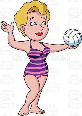 Women on beach clipart png freeuse stock Girl Playing Volleyball Clipart   Free download best Girl ... png freeuse stock