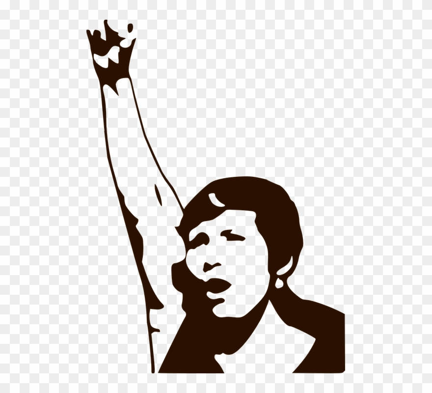 Women protesr clipart jpg royalty free library Protest Demonstrate Demonstration - Woman Power Clipart ... jpg royalty free library