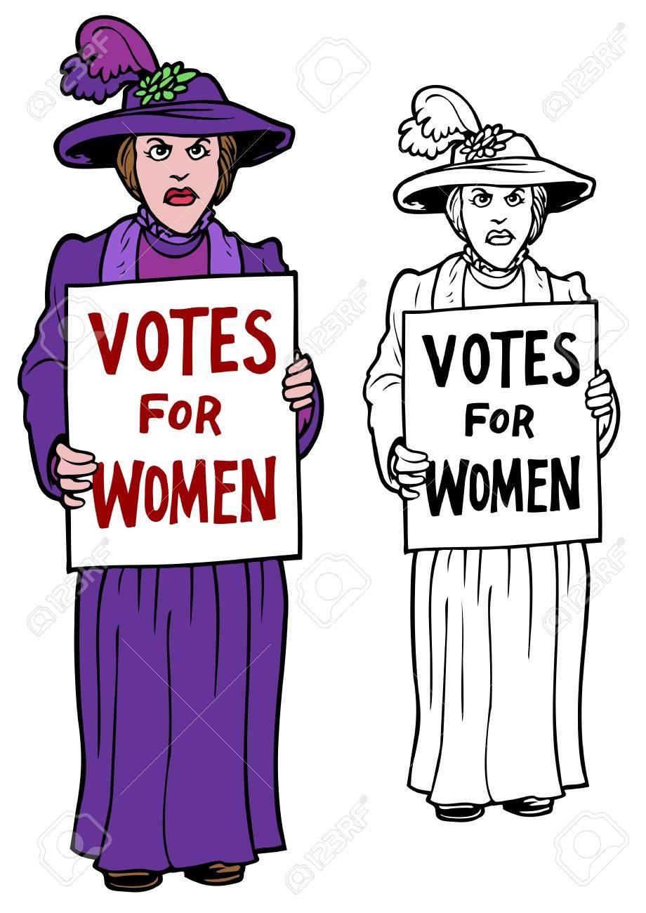 Women protesr clipart clipart library stock Protest clipart suffragette - 149 transparent clip arts ... clipart library stock