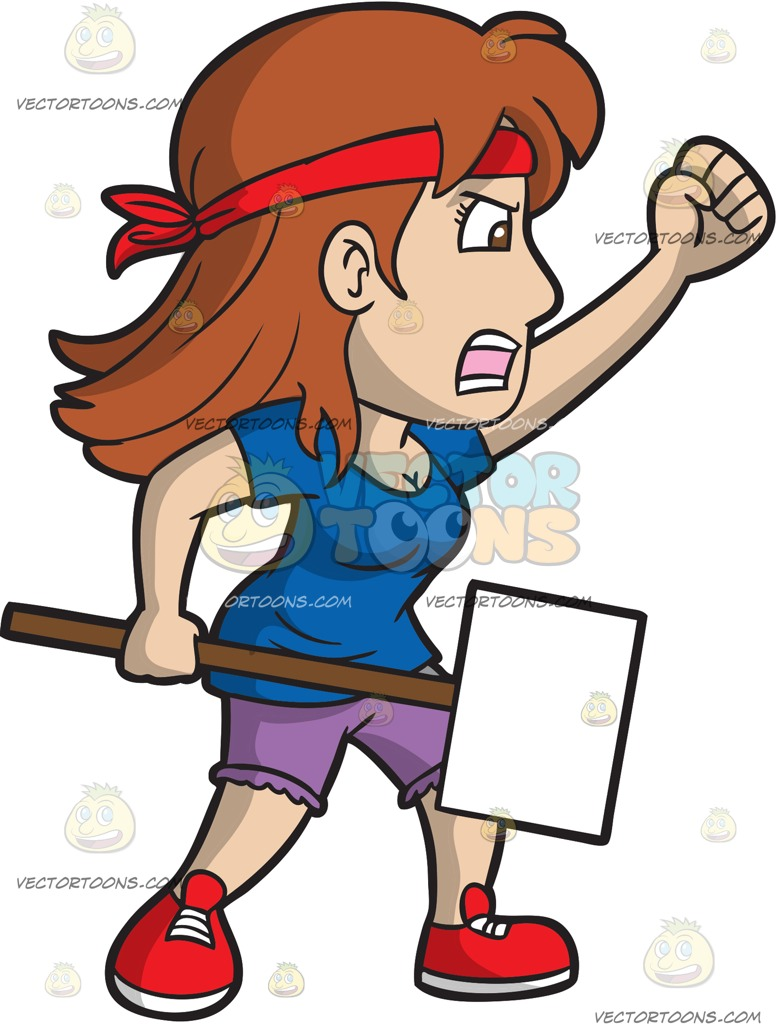 Women protesting clipart graphic free Protest Cliparts | Free download best Protest Cliparts on ... graphic free