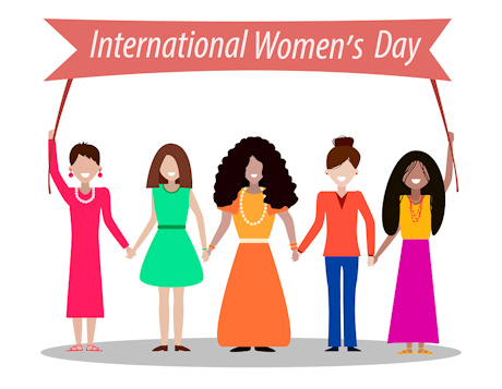 Women s activities clipart clipart black and white download International Women\'s Day Activities for Kids clipart black and white download