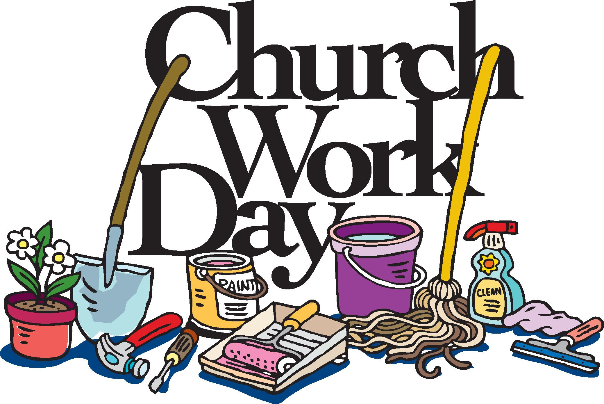 Volunteer clipart spring banner free stock Church Work Day Clip Art - Cliparts. | Women\'s Ministry ... banner free stock