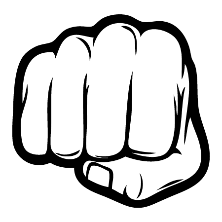Women s fist pump clipart free clipart black and white library Free Fist Punch Cliparts, Download Free Clip Art, Free Clip ... clipart black and white library