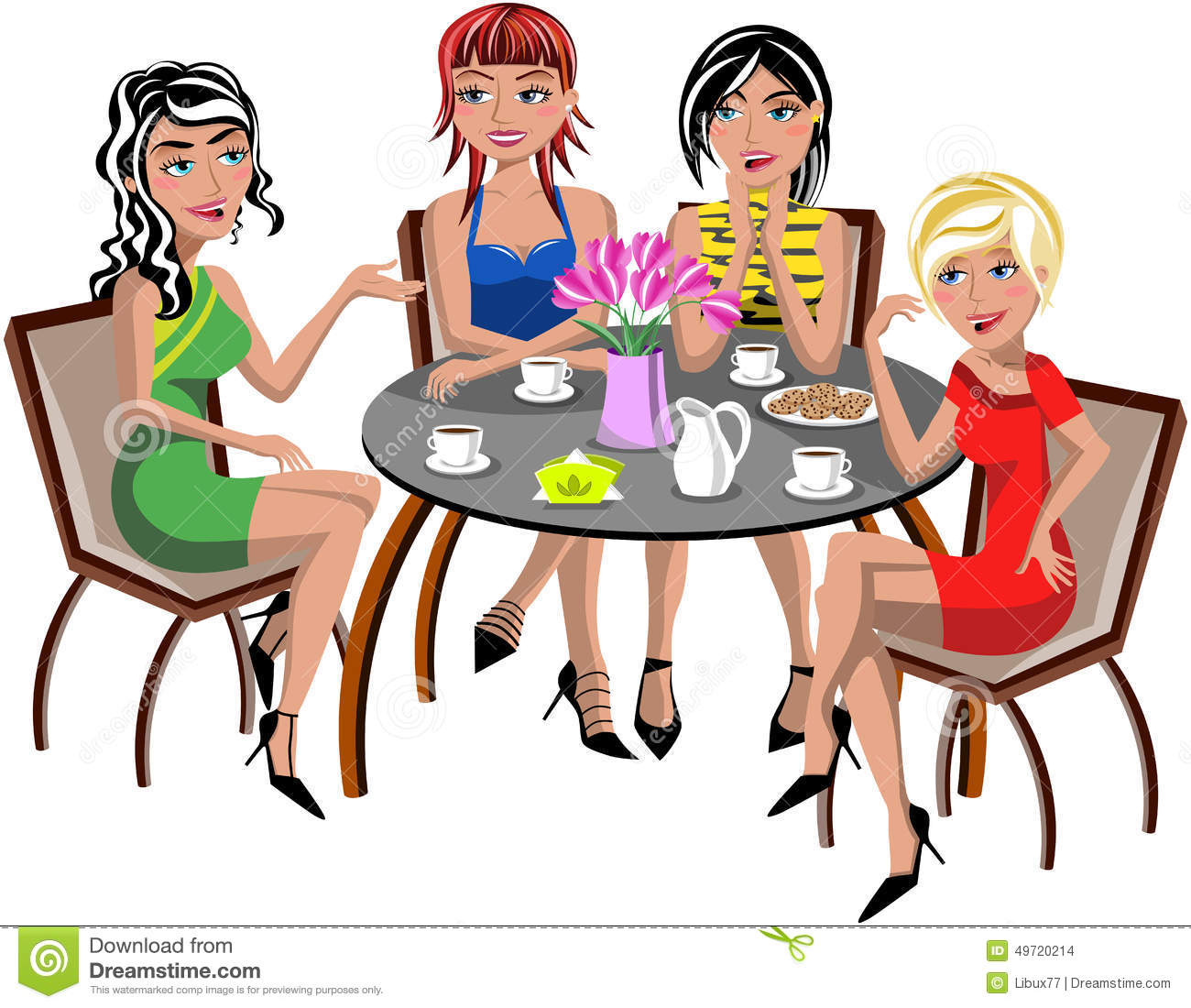 Women s luncheon clipart images svg transparent library Ladies Meeting Cliparts   Free download best Ladies Meeting ... svg transparent library